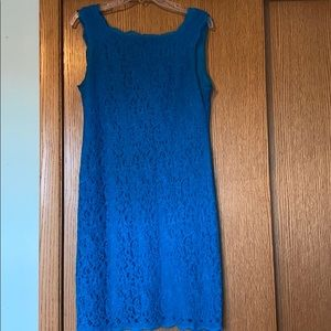 Gorgeous blue Adrianna Papell dress!